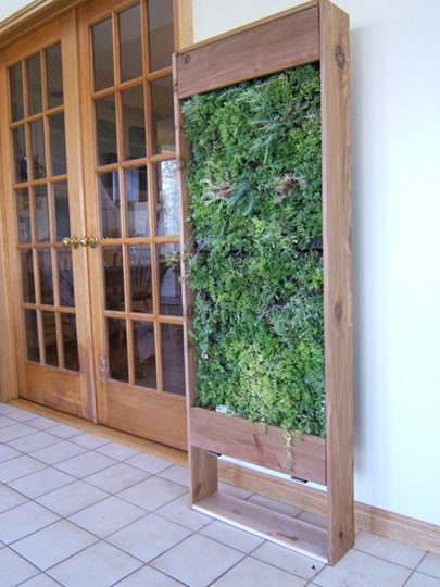 Vertical Garden Panel http://www.verticalplantscapes.co.za/products.html